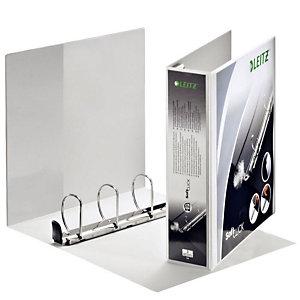 Leitz SoftClick Raccoglitore ad anelli personalizzabile, A4+, Dorso 72 mm, Capacità 380 fogli, Cartone, Bianco