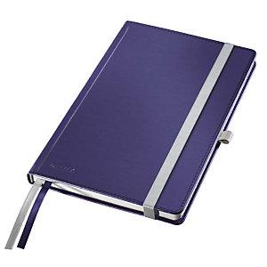 Leitz Style Blocco note A quadretti, A5, Copertina rigida, 80 fogli, Blu titanio
