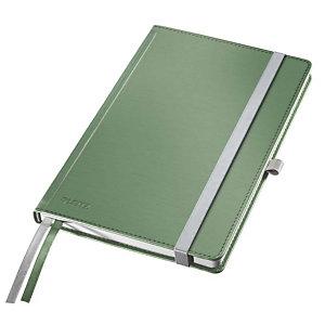 Leitz Style Blocco note A quadretti, A5, Copertina rigida, 80 fogli, Verde celadon