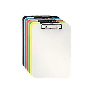 Leitz Tabla de pinza portapapeles, A4, poliestireno, colores surtidos