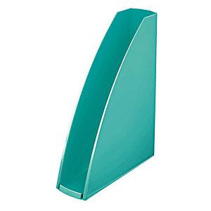 LEITZ WOW-tijdschriftcassette van polystyreen, 60 mm, ijsblauw