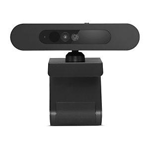 Lenovo 500 FHD, 1920 x 1080 pixels, 75°, 5 V, USB-C, Noir, A cliper/à poser 4XC0V13599