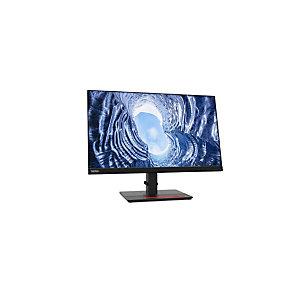 """Lenovo ThinkVision T24h-20, 60,5 cm (23.8""""), 2560 x 1440 Pixeles, WQHD, LCD, 6 ms, Negro 61F0GAT1EU"""