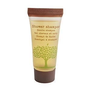 LEONE Bagnodoccia/Shampoo Linea Cortesia Natura, Tubetto da 25 ml (confezione 50 pezzi)