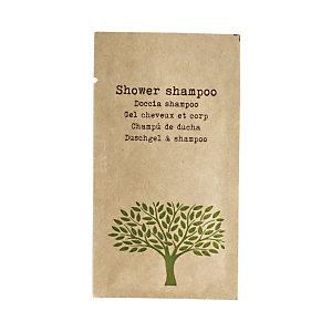 LEONE Bustina Bagnodoccia/Shampo Linea Cortesia Natura, 10 ml (confezione 150 pezzi)