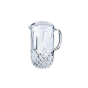 LEONE Caraffa KOS in metacrilato, Capacità 1.600 ml, Trasparente