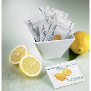 LEONE Salvietta monouso Sorrento, Profumo limone, 19 x 15,5 cm (confezione 100 pezzi)