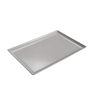 LEONE Vassoio rettangolare Topazio in melamina, 30 x 20 x 2 cm, Bianco