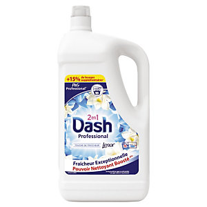Lessive liquide Dash 2 en 1 Professional 90 doses