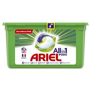 Lessive liquide en dosette Ariel pods 3 en 1, 31 doses Original