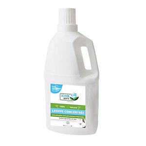 Lessive liquide écologique concentrée Action Verte fleur de coton 5 L - 142 doses