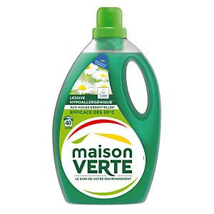 Lessive liquide écologique Maison Verte fraîcheur d'été 2,4 L - 40 doses