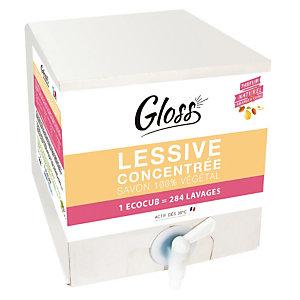 Lessive liquide Gloss, Ecocub de 10 L