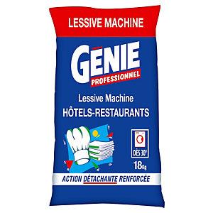 Lessive poudre Génie Professionnel hôtels-restaurants, sac 360 doses