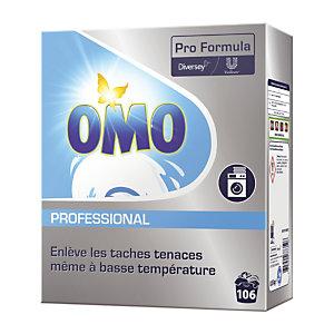 Lessive poudre Omo Professional 106 doses