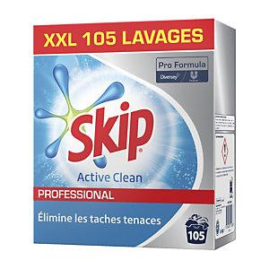 Lessive poudre Skip Professional 105 doses