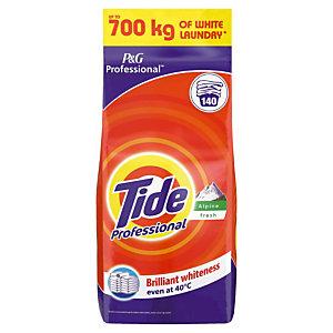 Lessive poudre Tide Professional Alpine Fresh 14 kg - 140 doses