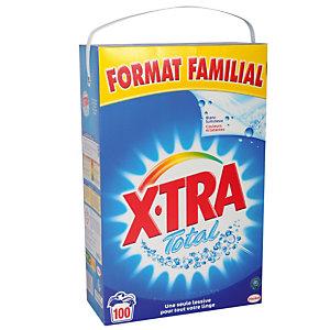 Lessive poudre X-tra Total 100 doses