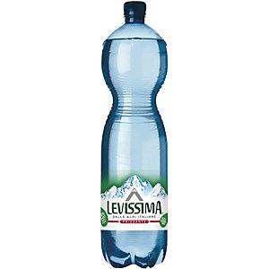 LEVISSIMA Levissima Bio Acqua minerale, Frizzante, Bottiglia 30% di R-PET, 150 cl (confezione 6 bottiglie)