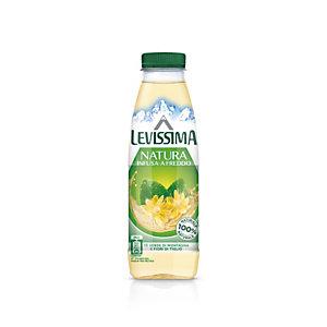 LEVISSIMA Natura, Infusa a freddo, Tè verde di montagna e fiori di tiglio, Bottiglia 480 ml