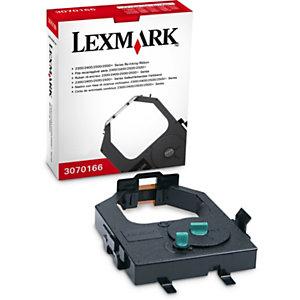 Lexmark 3070166, Cinta de impresión, Negro