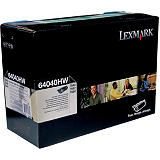 Lexmark 64040HW, Tóner Original, Negro