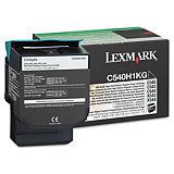 Lexmark C540H1KG, Tóner Original, Negro, Alta capacidad