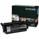 Lexmark T650H11E, Tóner Original, Negro, Alta Capacidad