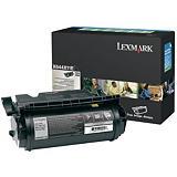 Lexmark X644H11E, Tóner Original, Negro, Alta capacidad