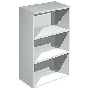 Librería 120 cm altura aluminio Europa