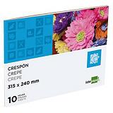 liderpapel Bloc de manualidades, 31,5 x 24 cm, papel crespón/pinocho en colores surtidos