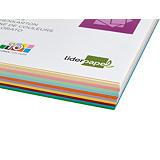 liderpapel Cartulina de colores A4 180 gr 10 colores 100 hojas