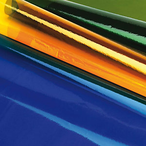 liderpapel Papel celofán, 50 x 70 cm, verde