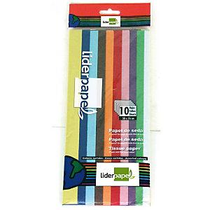 liderpapel Papel seda, 52 x 76 cm, 17 g/m², colores surtidos