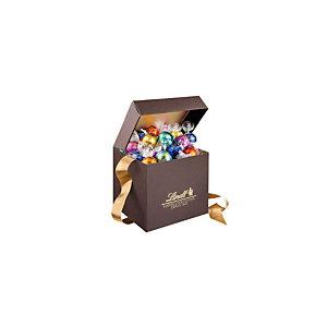 Lindt Coffret Assortiment chocolats Lindor 1 kg - Coffret cadeau