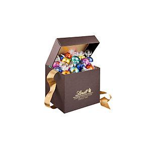 Lindt Coffret Assortiment chocolats Lindor 500 g - Coffret cadeau