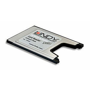 Lindy, Accessori notebook, Adattatore pcmcia a compact flash, 70952