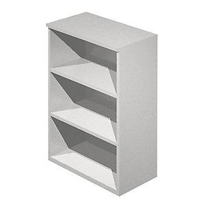 Linea Ambra/Linea Concept  Mobile medio a giorno, cm 80 x 44 x 120 h, Grigio metallizzato