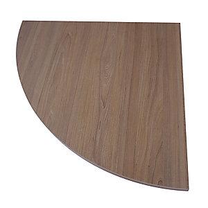 Linea Open, Raccordo angolare a 90 gradi, 80 x 80 cm, Noce venato