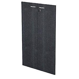 Linea Pronto Ante per mobile medio, 800 x 1150 mm, Colore nero venato