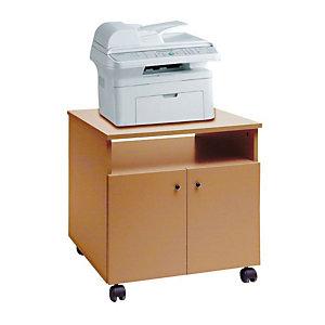 Linea Pronto Mobile porta fotocopiatore, 68 x 53 x 60 cm, Noce chiaro