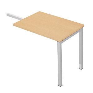 Linea Pronto Tech Ritorno per scrivania, 80 x 60 x 72,5 cm, Faggio
