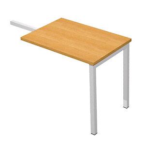 Linea Pronto Tech Ritorno per scrivania, 80 x 60 x 72,5 cm, Noce chiaro