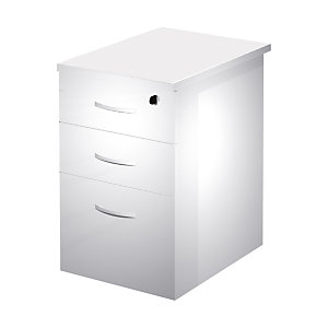 Linea Work Cassettiera classificatore alta con top, 44 x 60 x 73 cm, Bianco