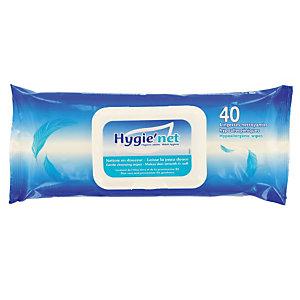 Lingettes Hygie'net, etui de 40 lingettes