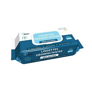 Lingettes nettoyantes désinfectantes multi-usages Epione, étui de 72 lingettes