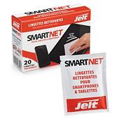 Lingettes pour smartphones et tablettes SmartNet JELT