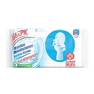 Lingettes WC HARPIC
