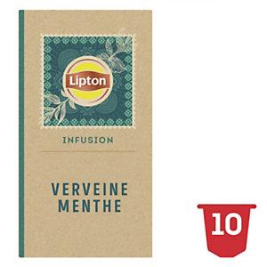 Lipton Infusion Verveine Menthe Fraîche 10 Capsules