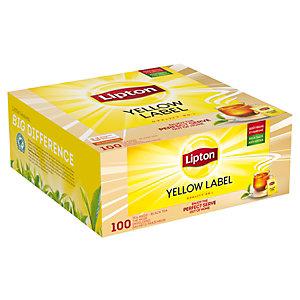 Lipton Tè yellow label  (confezione 100 pezzi)